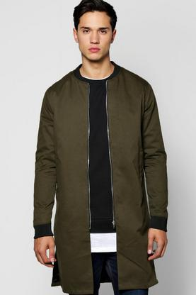 Longline Cotton Bomber