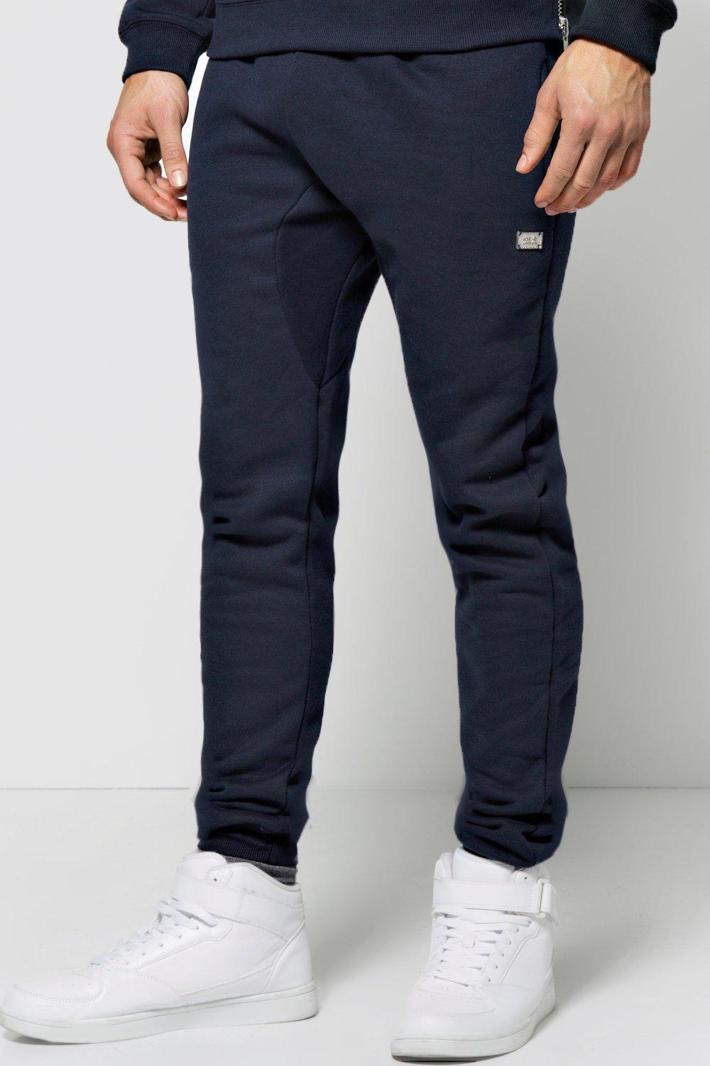 Skinny Fit Drop Crotch Joggers