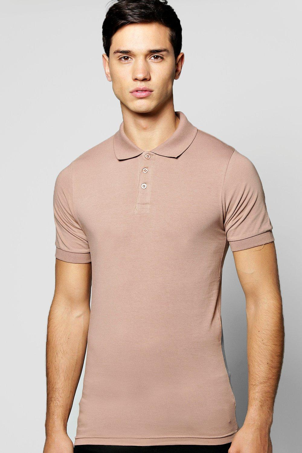 Short Sleeve Extreme Muscle Fit Polo