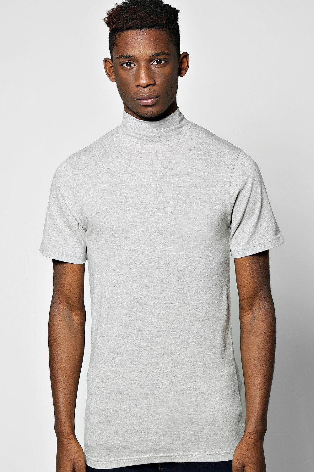 Extreme Muscle Fit Turtle Neck TShirt