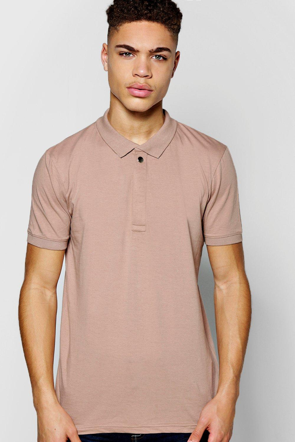 Elongated Placket Polo