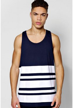 Engineered Breton Stripe Vest