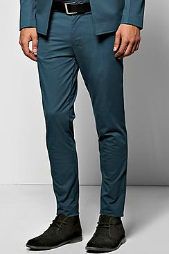 Skinny Trousers With Seamed Details