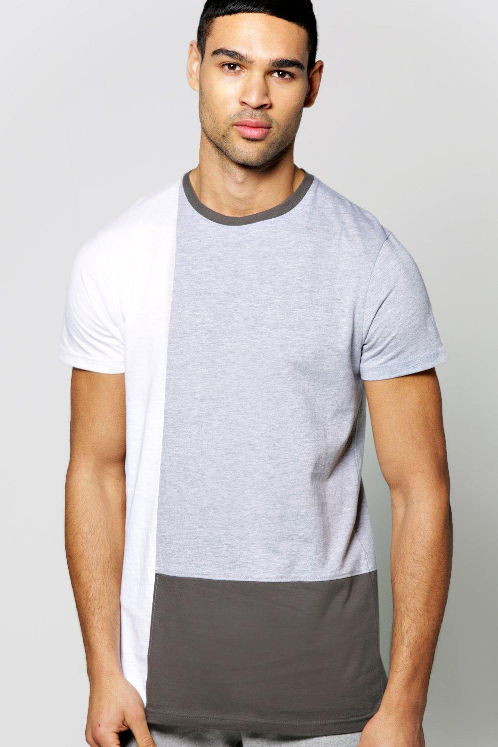 Multi Colour Block T Shirt