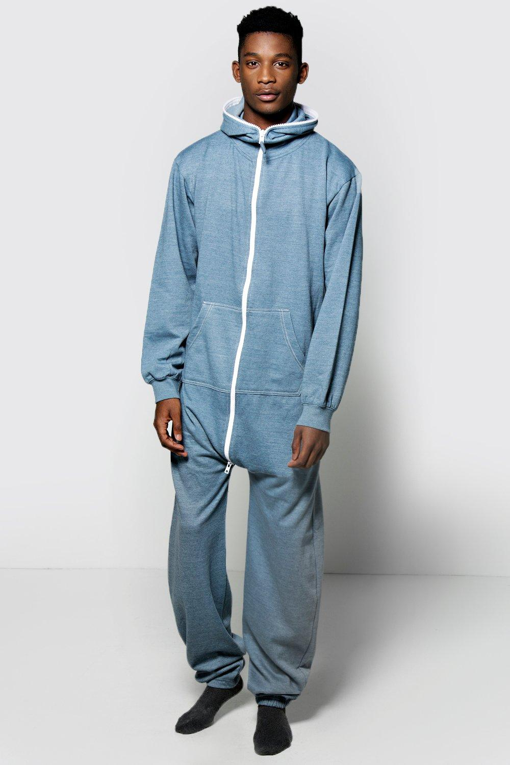 Stay warm and stylish with a men's onesie. The boohoo Man collection is sure to please you with animal onesies and onesies with hoods. By continuing to use our site you agree to us using Plain Fleece Lounge Pants $ $ Black Marl Onesie $ $