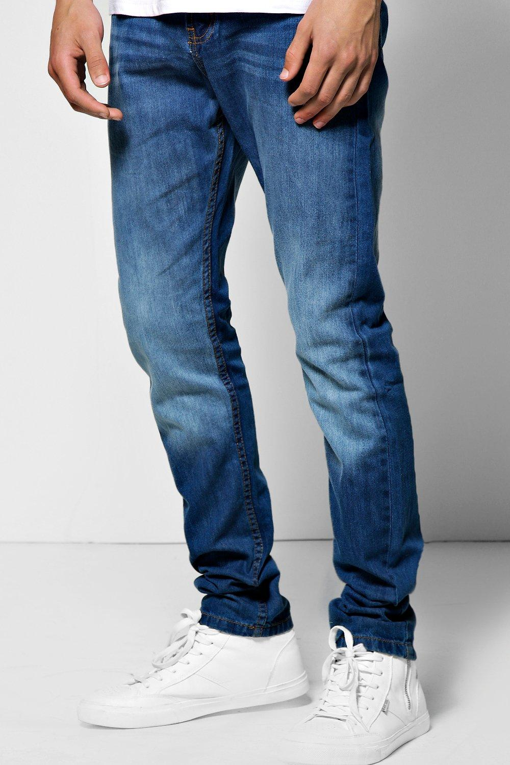 Vintage Wash Slim Fit Jean