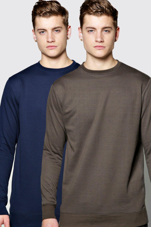 Image of boohoo 2 Pack Sweater - multi