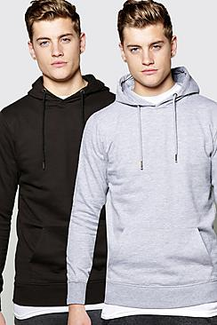 2 Pack Over The Head Hoodie