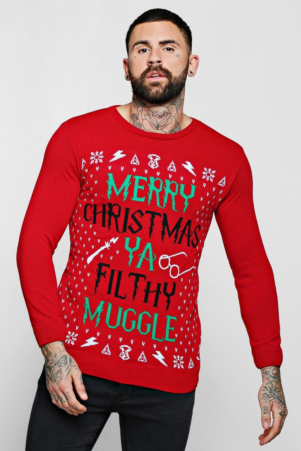 Merry Christmas Ya Filthy Muggle Jumper