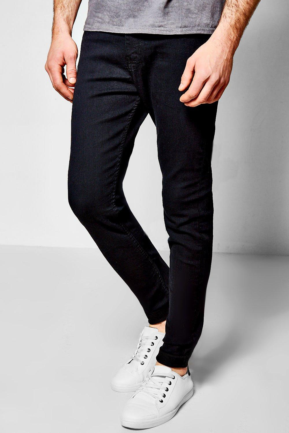 Black Super Skinny Fit Jeans