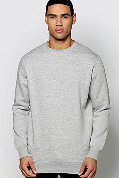 Slim Fit Basic Sweater