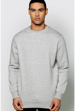 Slim Fit Basic Sweatshirt