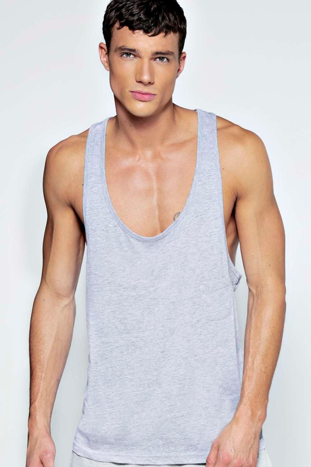 Extreme Muscle Fit Vest with Pocket
