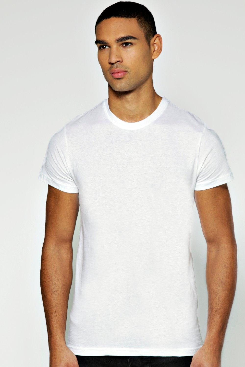 Slim Fit Crew Neck T Shirt