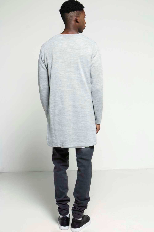 Boohoo Mens Longline Open Front Cardigan | eBay