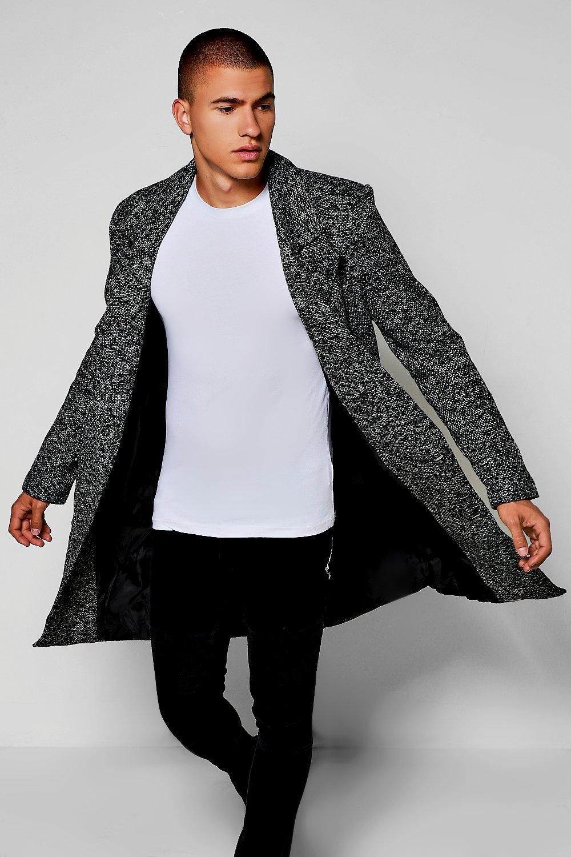 Image of boohoo 3/4 Smart Tailored Jacket - grey