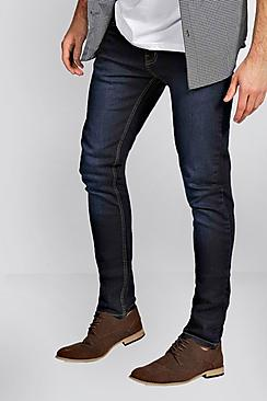 Super Skinny Washed Indigo Jean