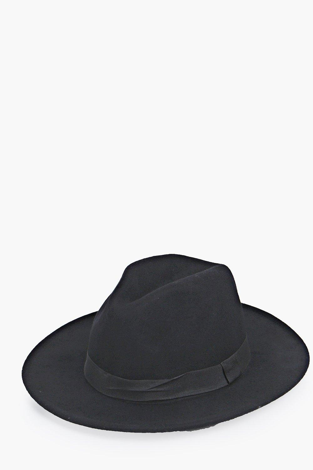 Fedora - black - Bring your accessories a-game wit