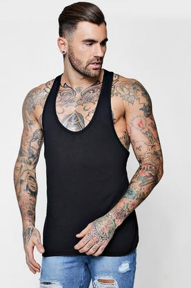 Extreme Racer Back Muscle Fit Vest