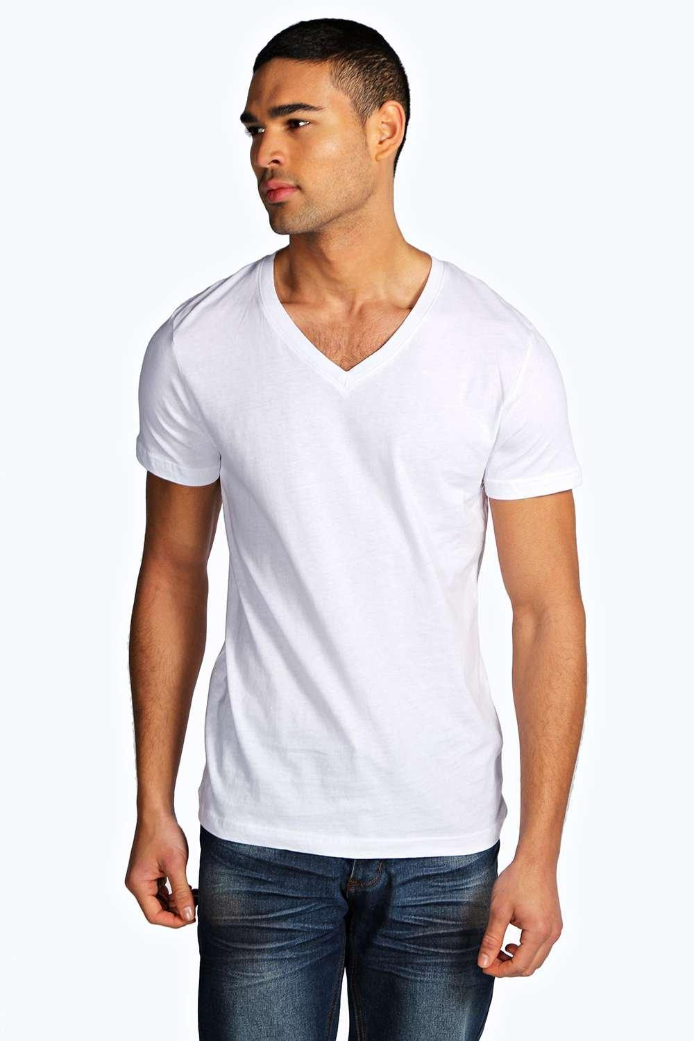 Slim Fit V Neck T Shirt