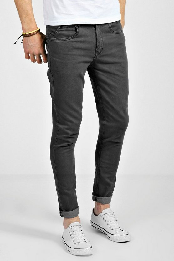 Clay Wash Skinny Fit Jeans