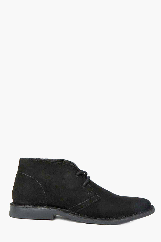 Suede Desert Boots black