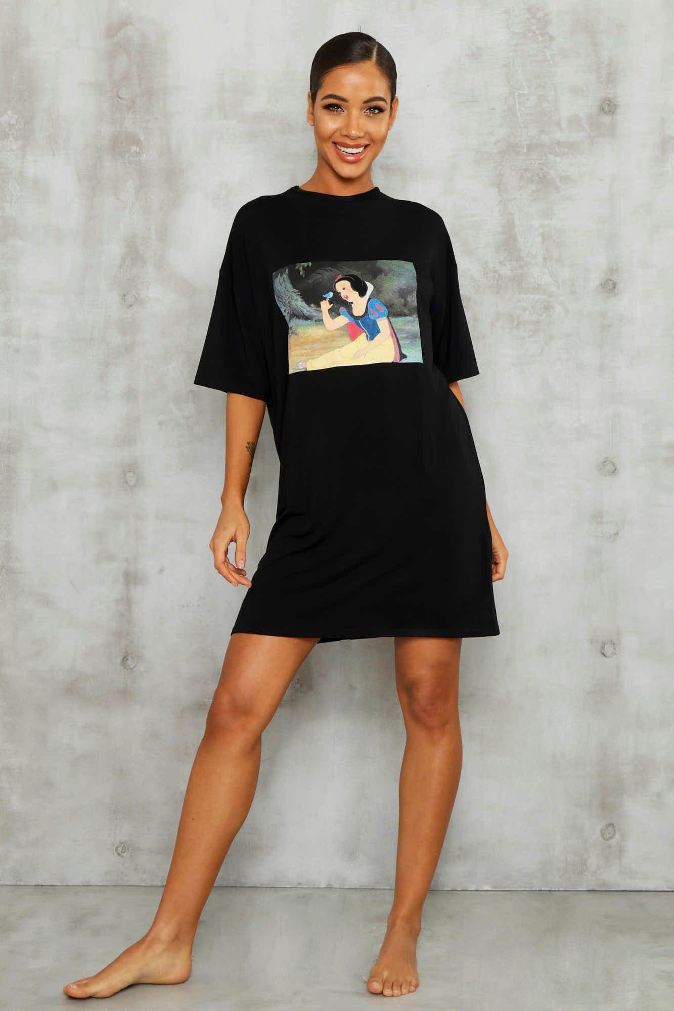 Купить со скидкой Лицензирированная пижамная футболка Disney с Белоснежкой