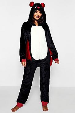 Body onesie Halloween con pipistrelli con ali