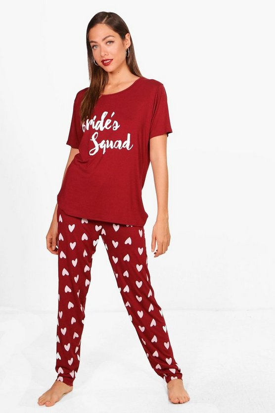 Poppy Brides Squad PJ Set