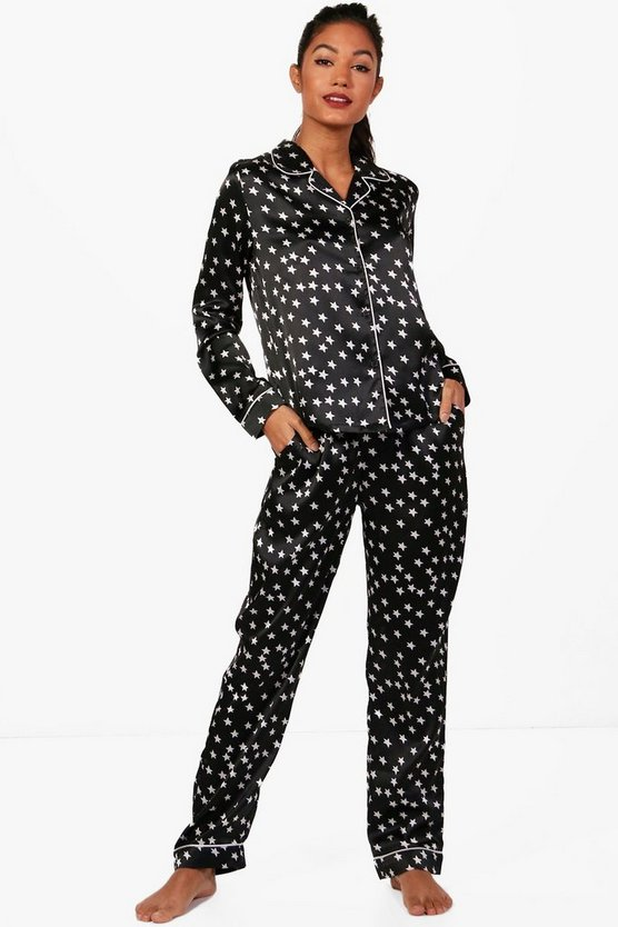 Esme Star Print Shirt & Trouser Set