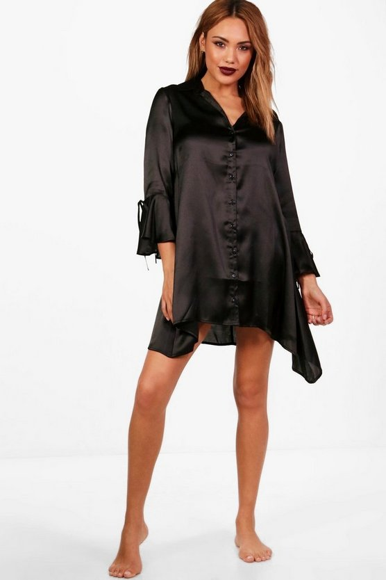 Rebecca Fluted Sleeve Night Dress