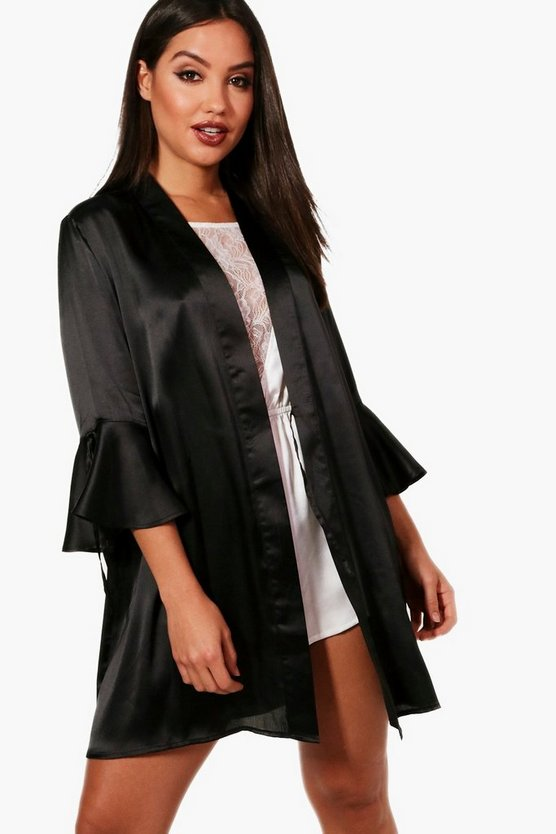 Faith Fluted Sleeve Robe