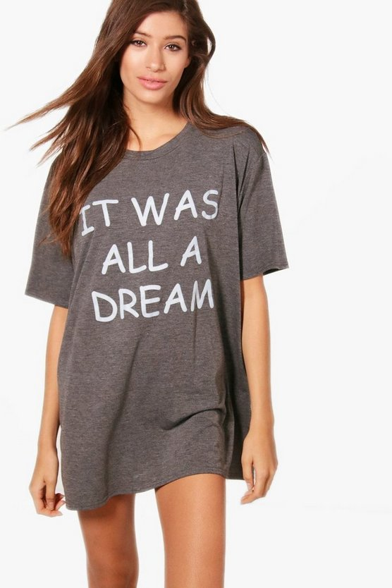 Ella Dream Slogan Nightdress