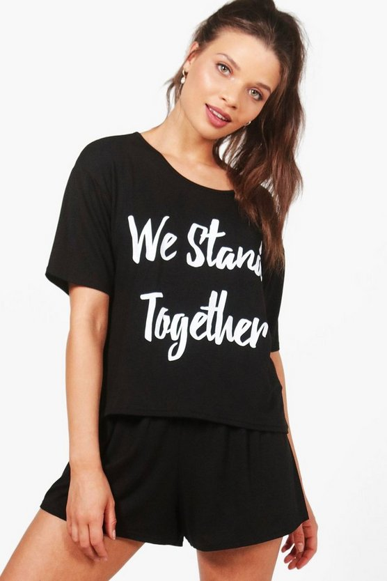 MCR Charity We Stand Together PJ Short Set