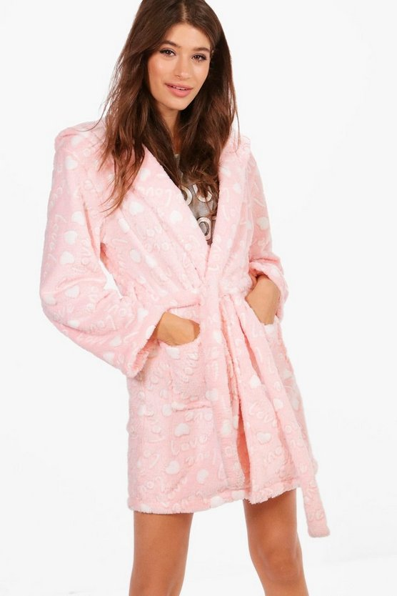 Alyssa Love Hooded Robe