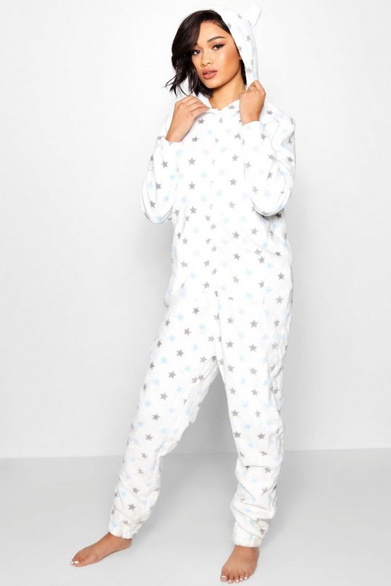 Star Printed Onesie