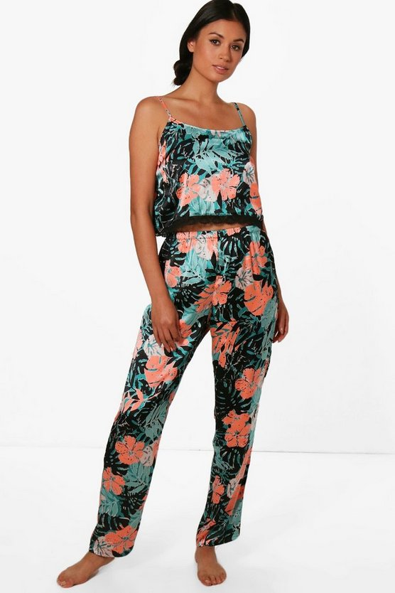 Lola Printed Trouser + Cami Set