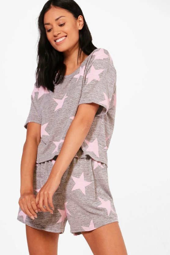Megan Star PJ Short Set