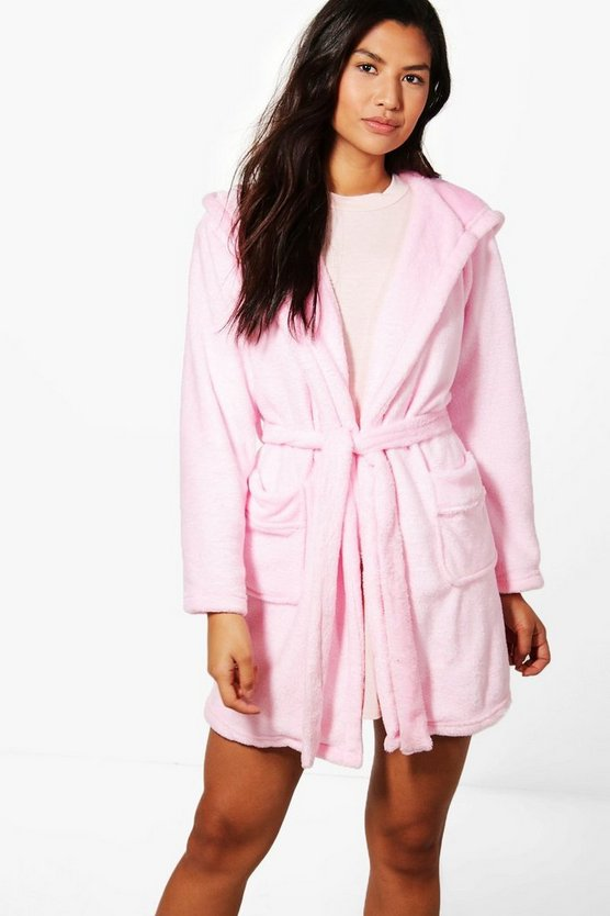 Olivia Bear Hooded Robe