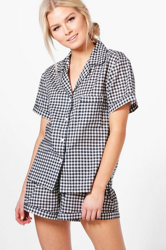 Alice Gingham Shirt and Short