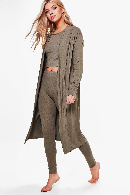 Loungewear Cardigan  khaki