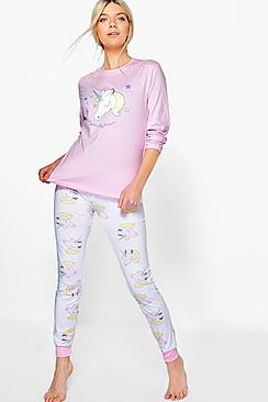 Unicorn Long Sleeve Jogger Set