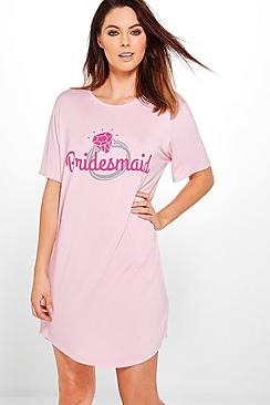 Hannah Bridesmaid With Ring Nightdress