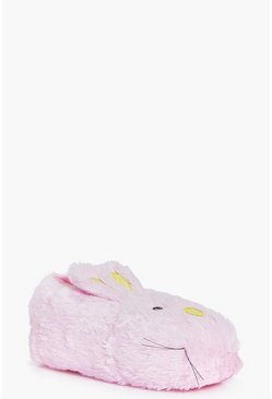 Jessica Fluffy Bunny Novelty Slippers