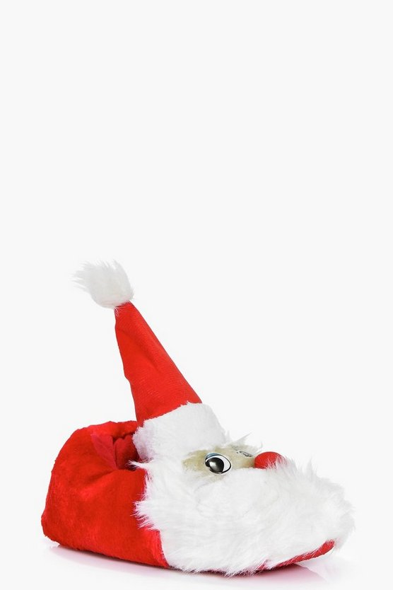 Layla Fleece Santa Clause Novelty Slipper