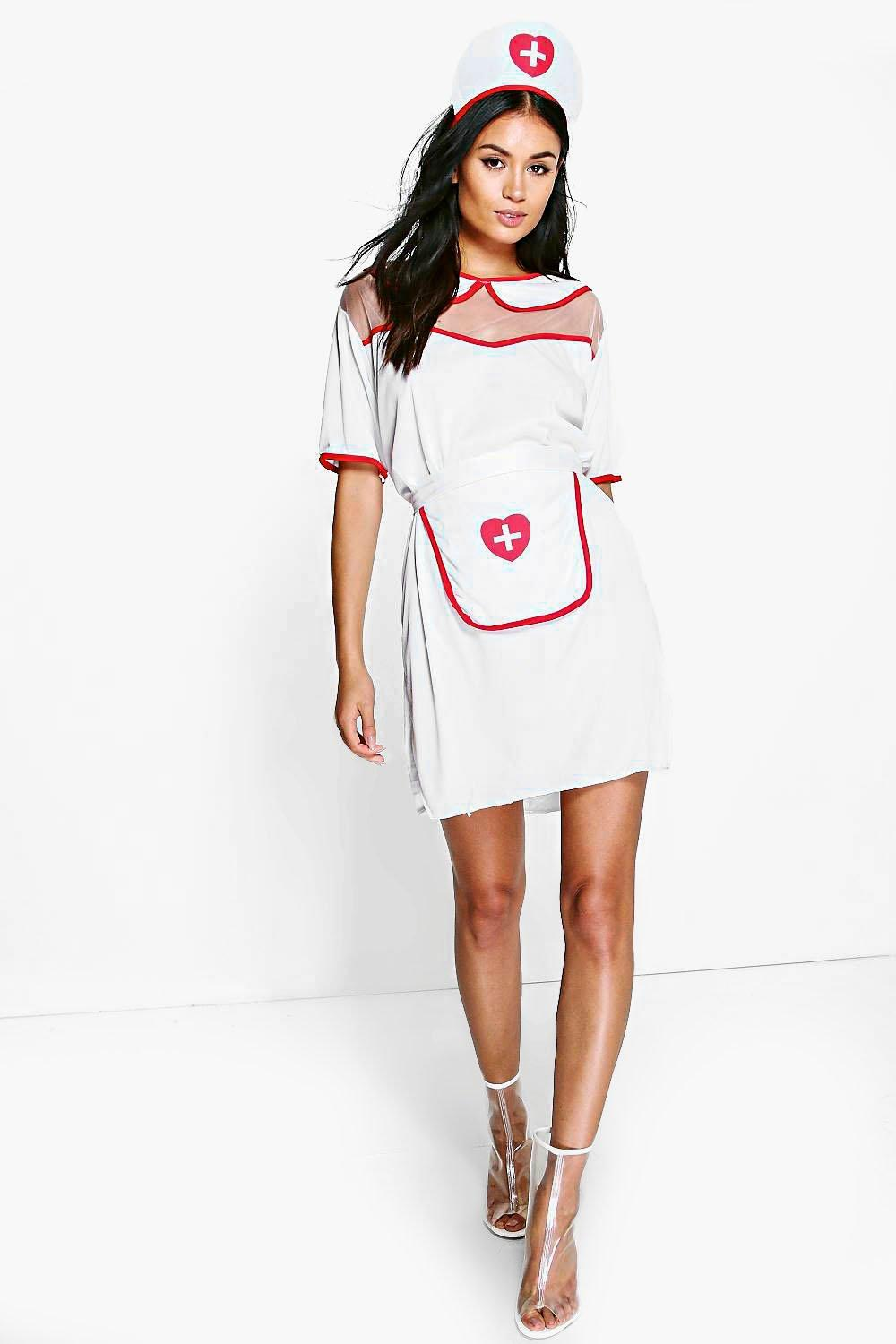 Freya Halloween Nurse Fancy Dress