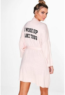 Harriet Woke Up Slogan Dressing Gown