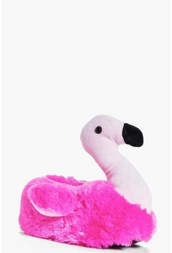 Scarlett 3D Flamingo Slippers