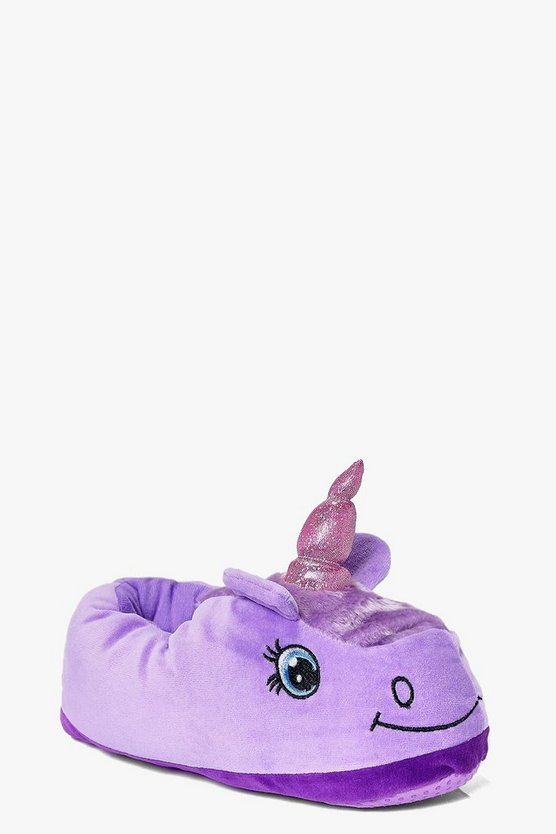 Tilly Unicorn Novelty Slipper