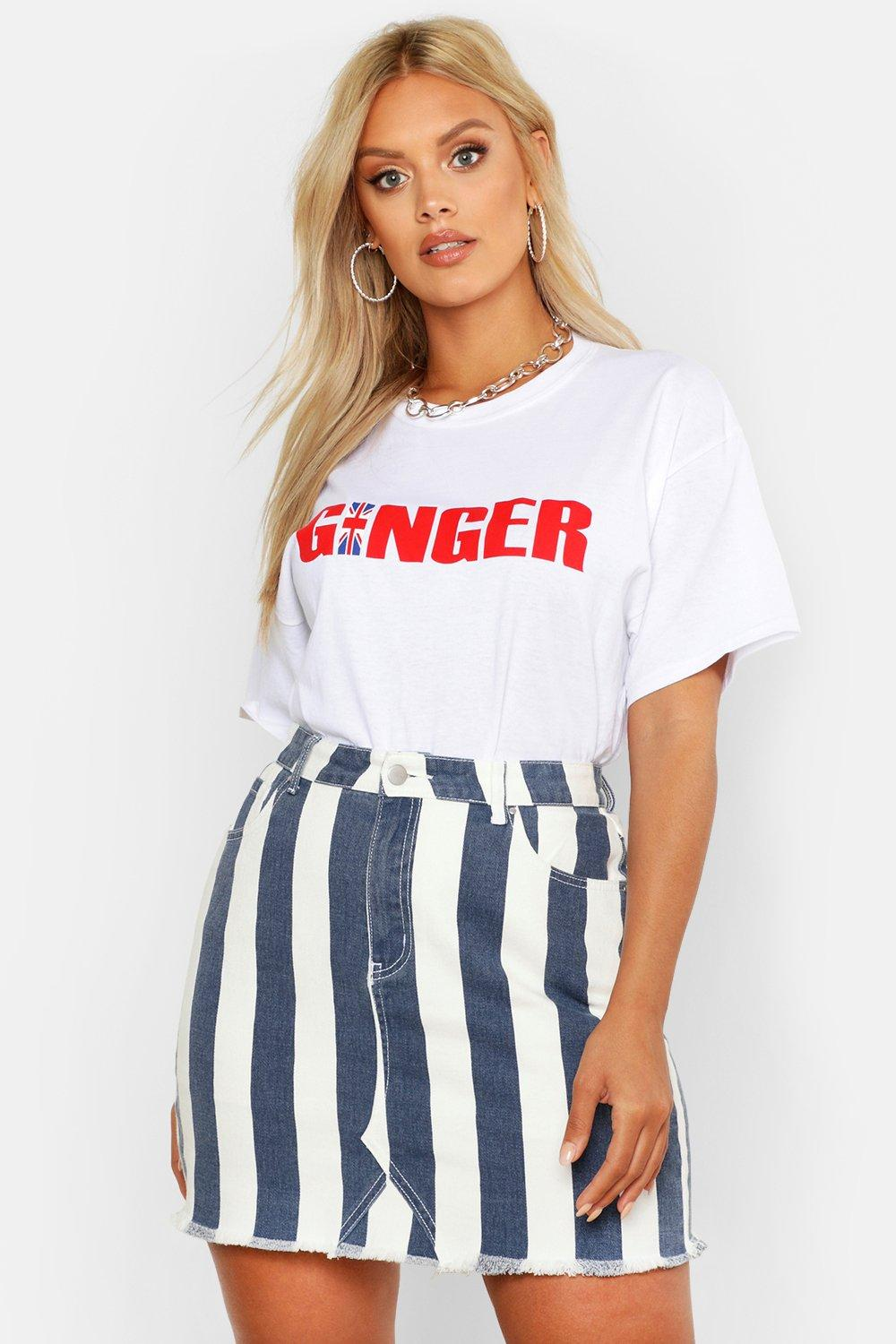 Plus Ginger Tee